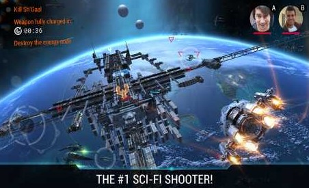 Galaxy on Fire 3 – Manticore 2.1.3 Apk + Mod (a lot of money/ Unlocked)