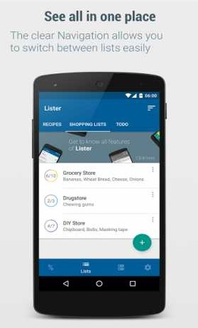 ListerShopping List – Lister v5.6.5 Apk for android